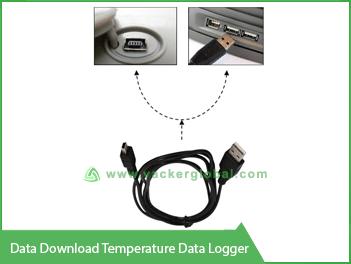 Data download Temperature Data Logger Vacker Maldives