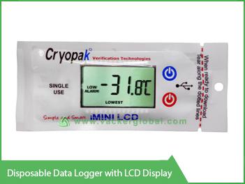 Disposable Data Logger with LCD display Vacker Maldives