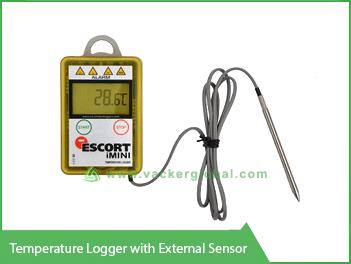 Temperature Logger with External Sensor Vacker Maldives