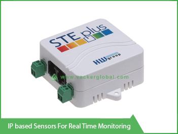 IP Based Sensors for real time monitoring - Vacker Maldives