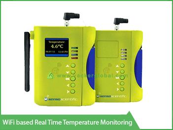 Wifi based real time temperature monitoring - Vacker Maldives
