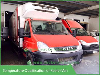 Temperature Qualification of Reefer Van - Vacker Maldives
