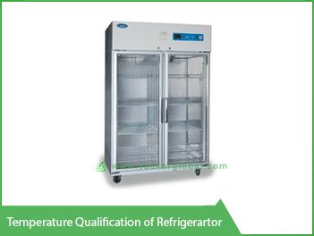 Temperature Qualification of Refrigerator - Vacker Maldives