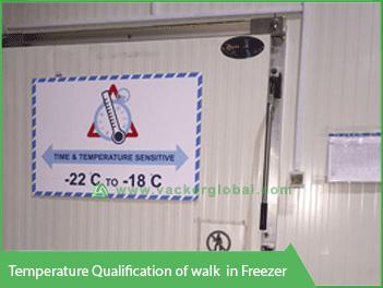 Temperature Qualification Walk-in Freezer - Vacker Maldives
