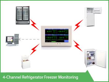 4 channel refrigerator freezing monitoring vackerglobal