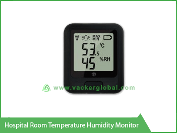Hospital Room Temperature Humidity Monitor VackerGlobal