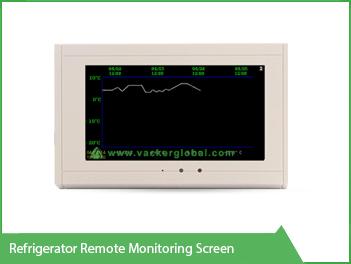 Refrigeratore Remote Monitoring Screen VackerGlobal