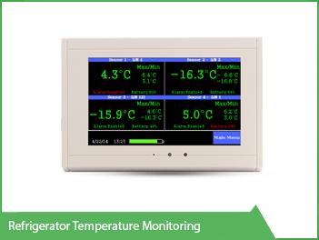 Refrigerator Temperature Monitoring VackerGlobal