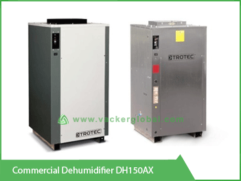 Commercial Dehumidifier DH150AX Vacker Maldives