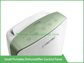 Small Portable Dehumidification Control Panel Vacker Maldives
